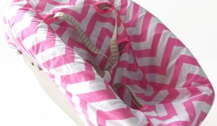 newbornhoes-stokke-chevron-pink