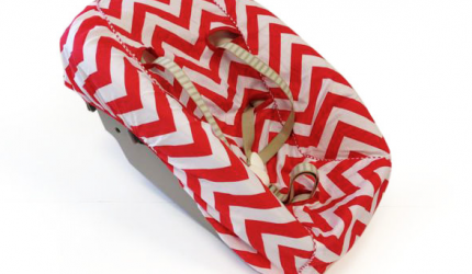 Newborn hoes-stokke-tripp-trapp-chevron-red