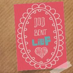 kaart-jij-bent-lief