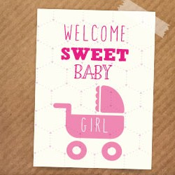kaart-welkom-sweet-girl