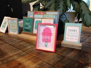 Gratis kaart/miniposter